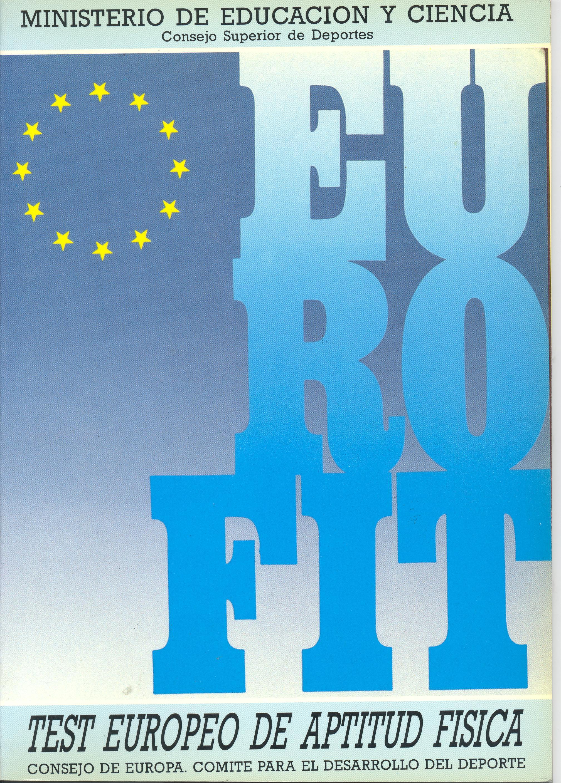Eurofit : test europeo de aptitud física - Publicaciones