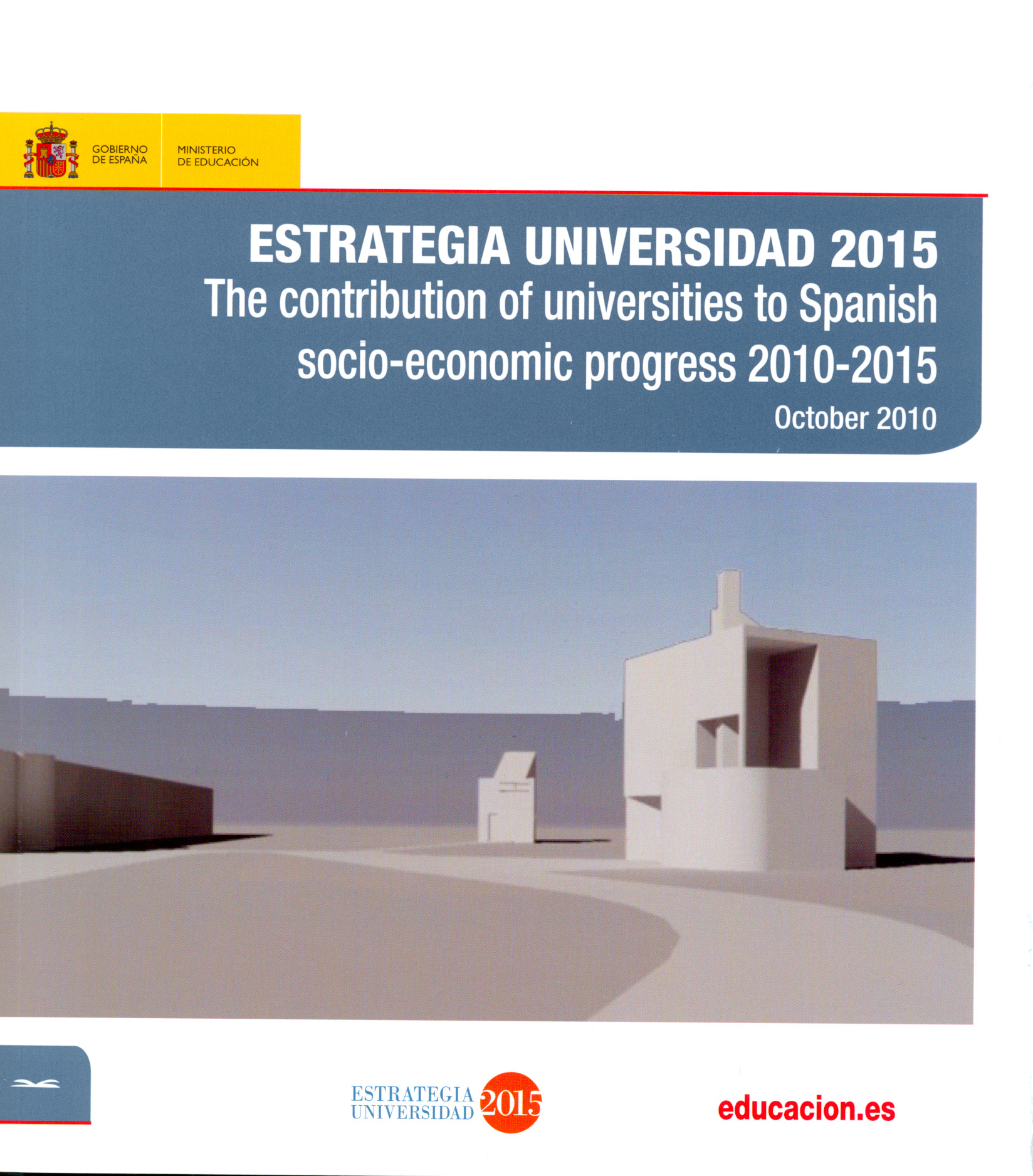 Estrategia universidad 2015 the contribut on of for Progress catalogo 2015