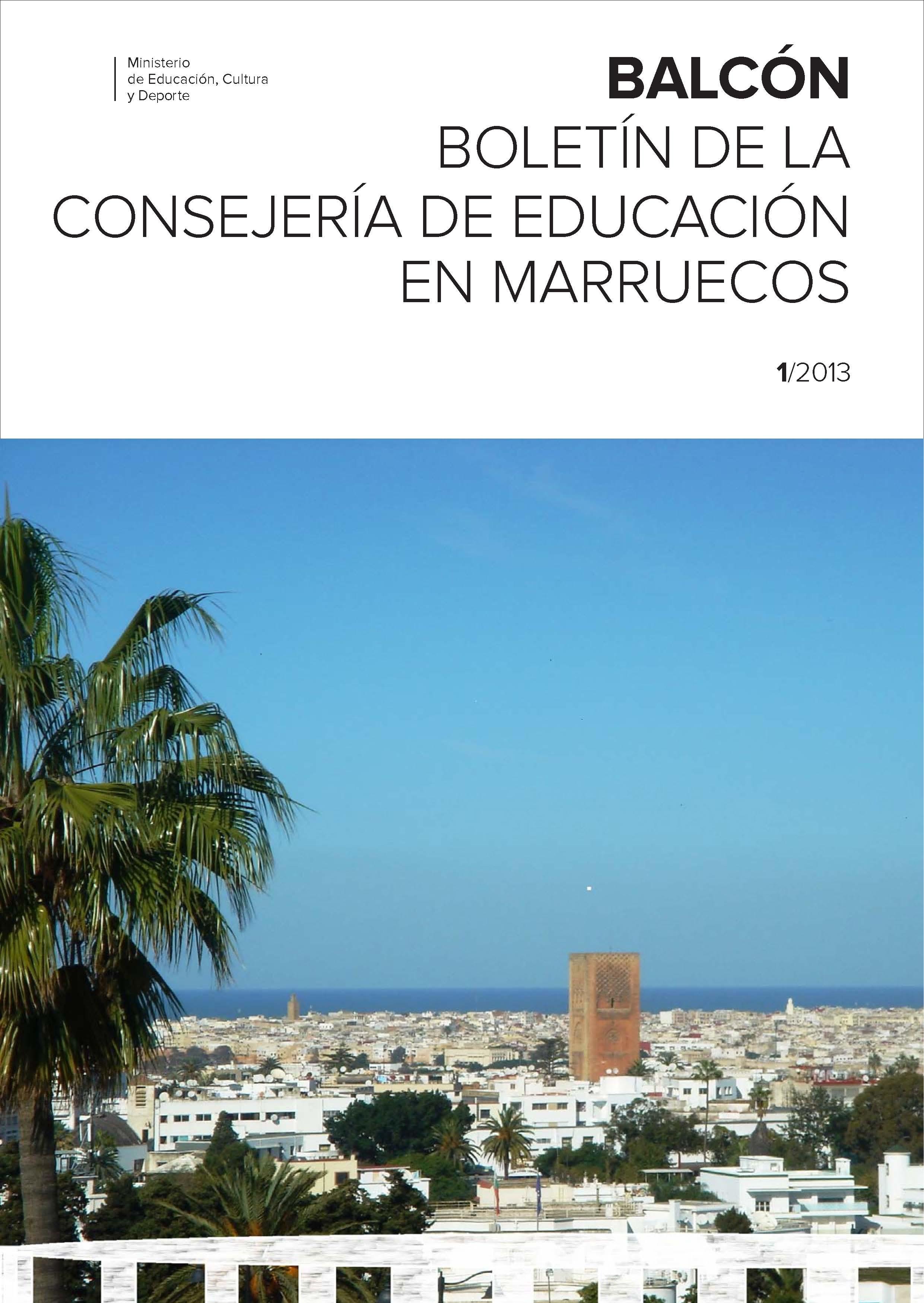 Balc n n 1 bolet n de la consejer a de educaci n en for Educacion exterior marruecos
