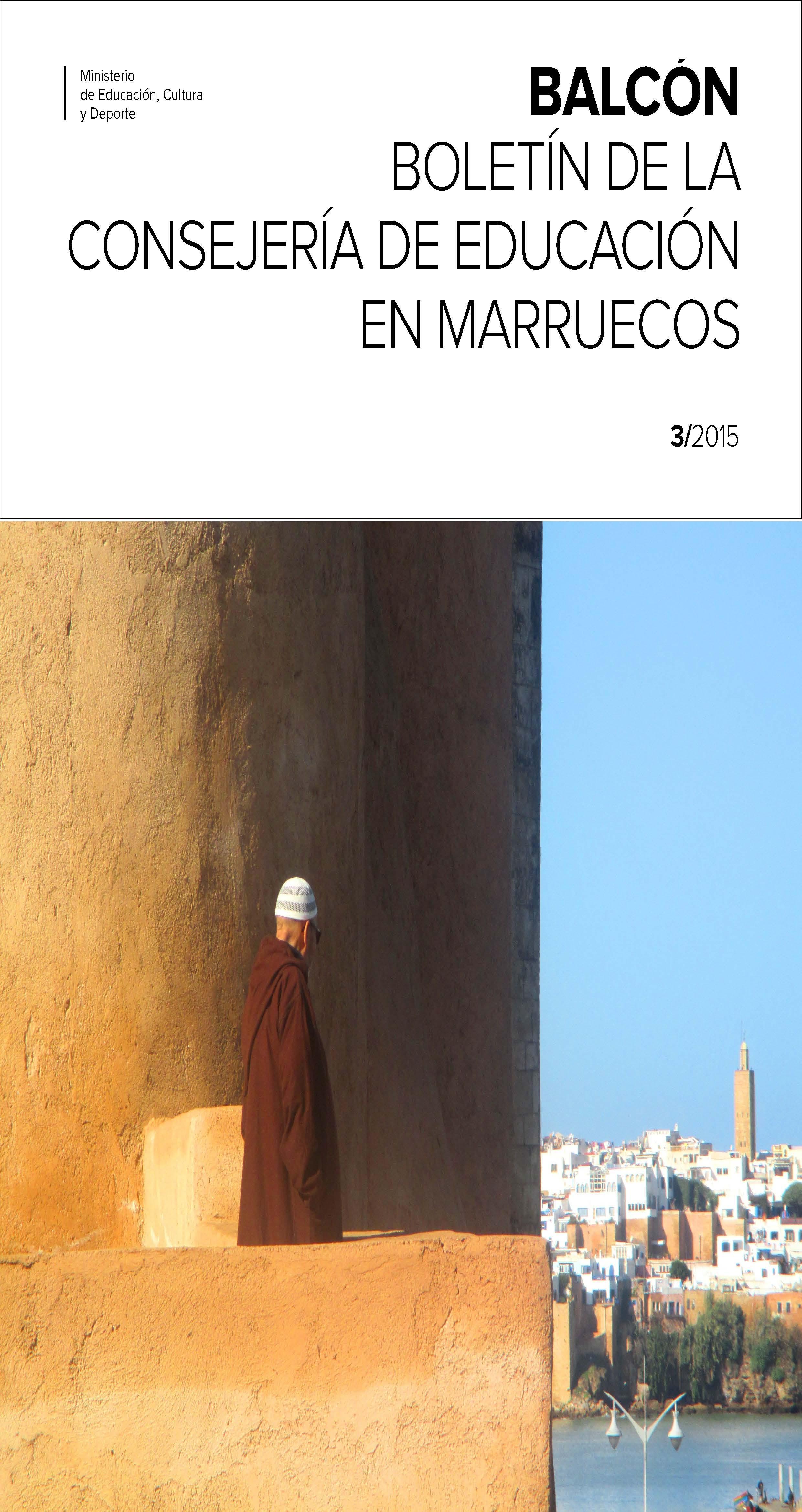 Balc n n 3 bolet n de la consejer a de educaci n en for Educacion exterior marruecos