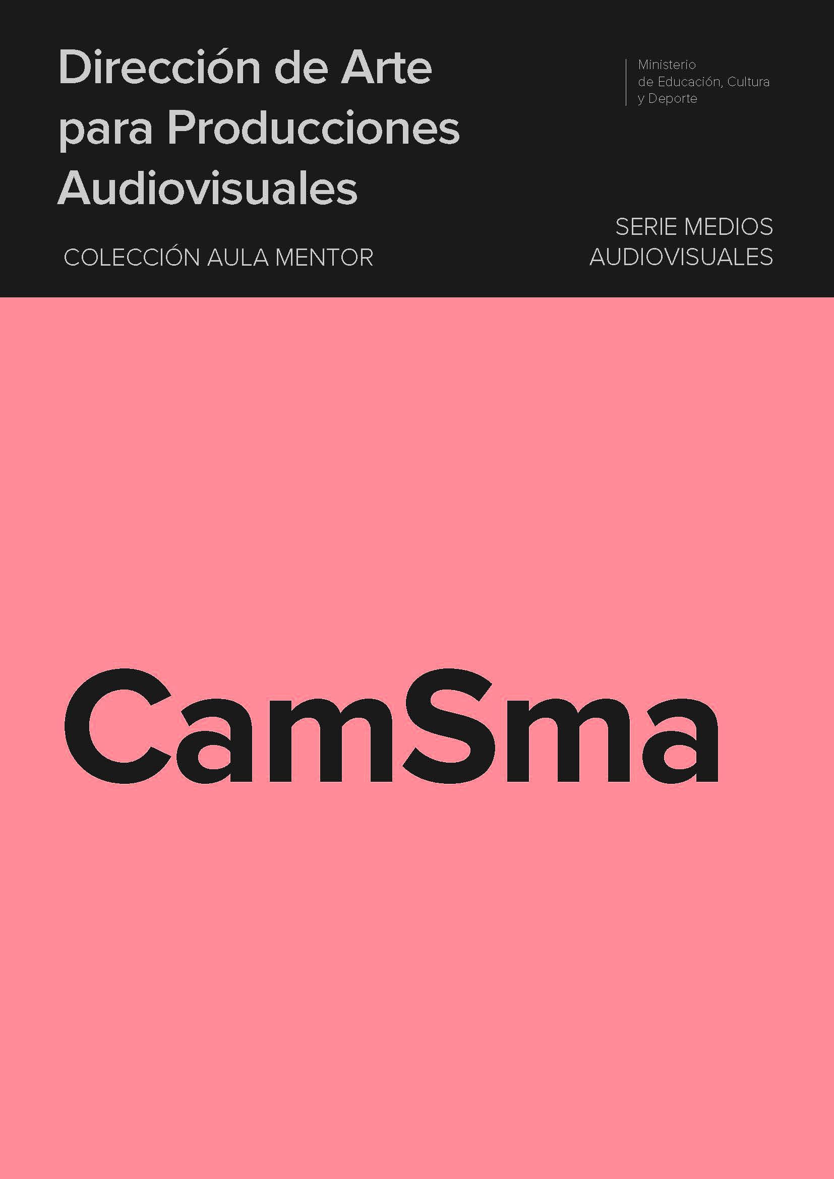 IN_Portada de Dirección de Arte para producciones audiovisuales